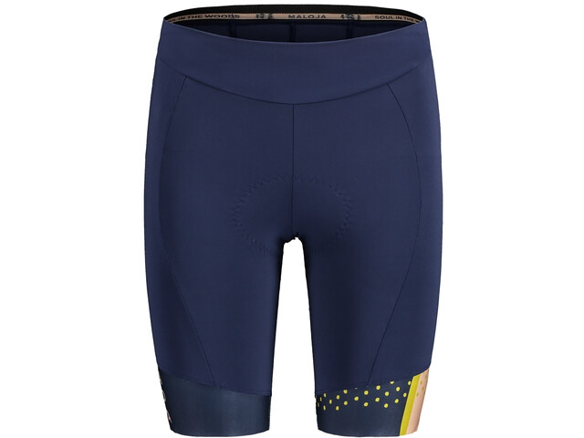 Maloja GoldpippanM. Chamois Bike Shorts Women, azul